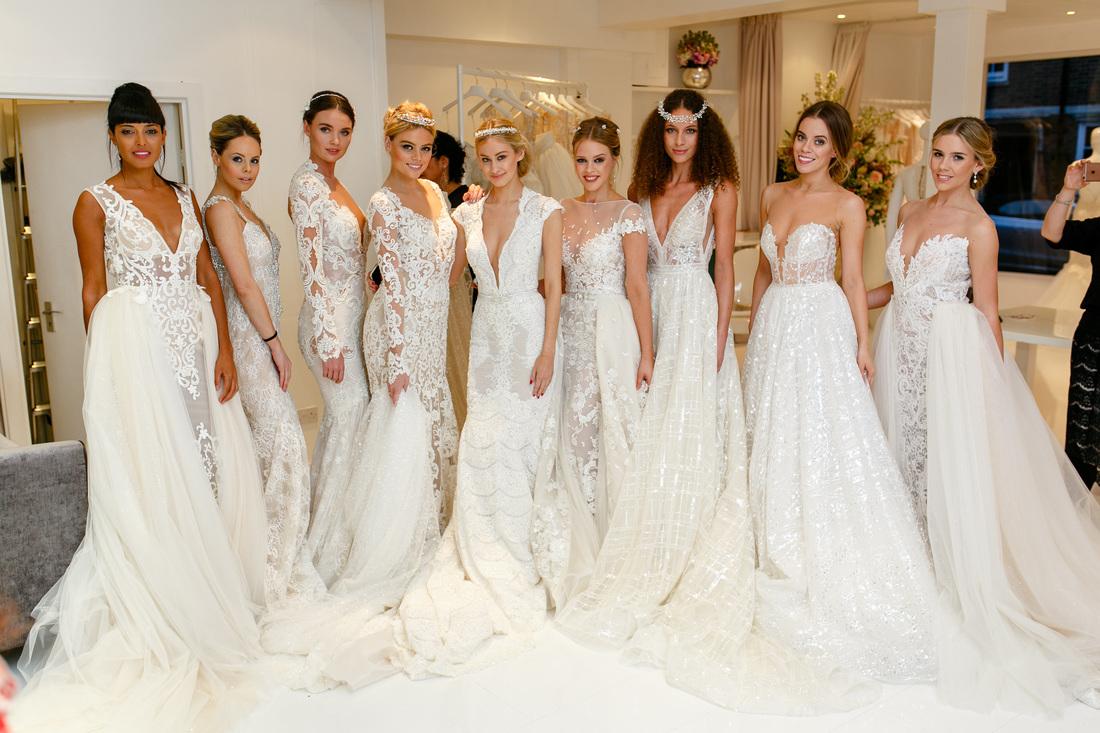 Berta Bridal New SS16 Collection at The Wedding Club